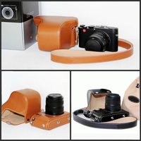 Camera Case Bag Genuine Leather Case Cover For Leica X Vario TYP 107 Mini M Pouch