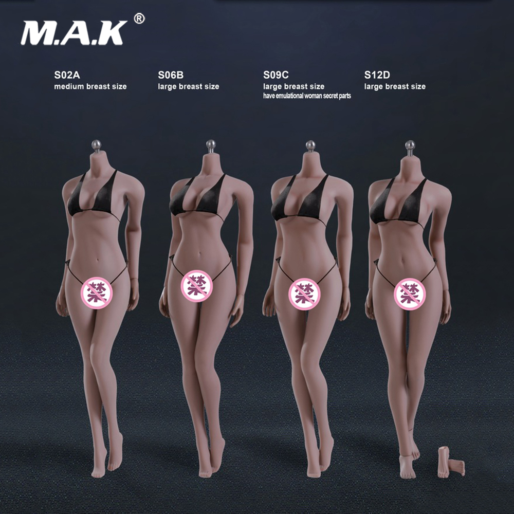 4 Styles 1:6 Scale Female Suntan Color Body Figure Super-Flexible Seamless Figure with Stainless Steel for Dolls Action Figure4 Styles 1:6 Scale Female Suntan Color Body Figure Super-Flexible Seamless Figure with Stainless Steel for Dolls Action Figure
