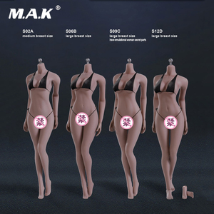 4 Styles 1:6 Scale Female Sunt