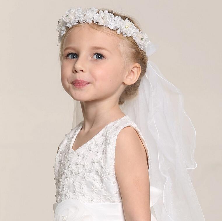 baby kids flower headband wedding flower headwear