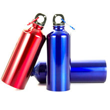 Hot Water Bottle 400ml 500ml 600ml outdoor exercise plastic Bike Sports Water Bottles drinking aluminum material easy to carry(China)