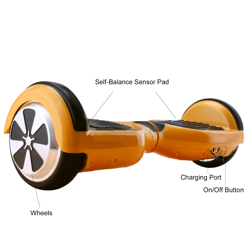 iScooter Self Balancing Hoverboard or two-wheel Skateboard with LED Light 18