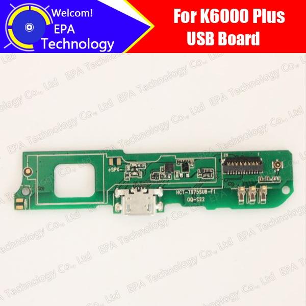 Oukitel K6000 Plus usb board 100% Original Neue für usb plug ladevorstands Ersatz Zubehör für K6000 Plus telefon