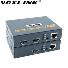 Voxlink h.264 hdmi extender 200 м над tcp/ip cat5e/6 1080 P hdmi передатчик приемник с ик tx/rx терминал для hdtv tv box