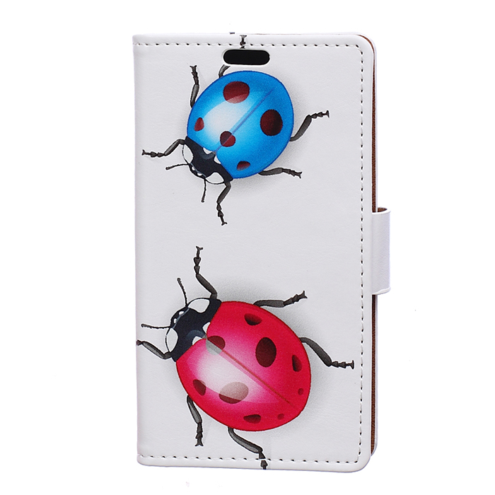 Luxury Painted Eiffel Tower Tiger Owl Wallet PU Leather Flip Card Slot Cover case For Alcatel 1X 5059D Bag Case fundas