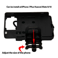 For BMW R1200GS Motorcycle Mount mobile phone Navigation bracket USB phone charging For Honda CRF1000L Africa Twin CRF1000L 2016