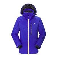 Открытый Для мужчин; лыжный костюм утолщенной чистке теплая одежда стойкие Водонепроницаемый быстросохнущая спортивные Восхождение лыжна