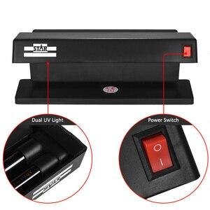 Image 3 - Détecteur de billets de contrefaçon multi devises Portable Ultraviolet double Machine de détection de lumière UV billets de banque