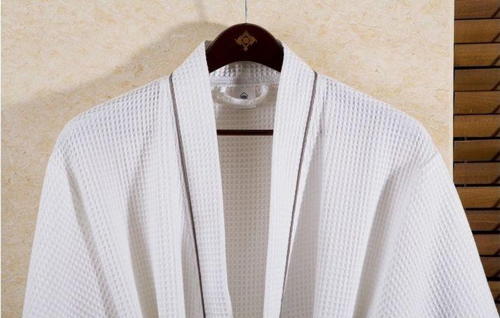 Women\'s Mid-Calf Cotton Sleep Lounge Robes RBS-D RB26 14