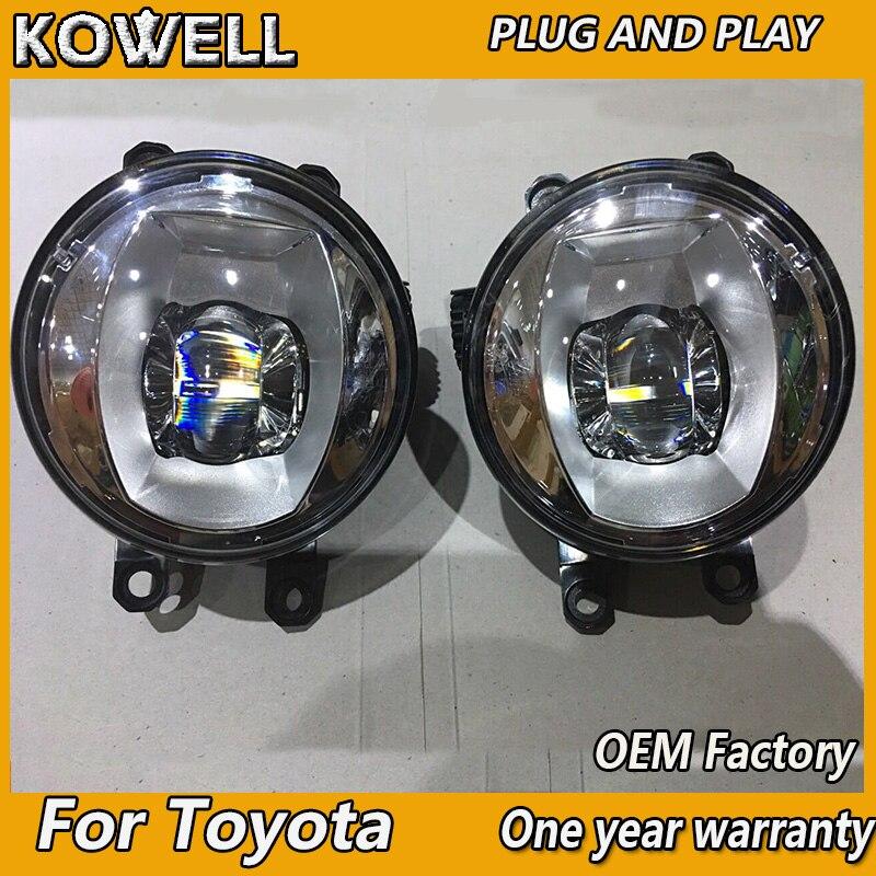 100% QualitäT Auto Styling Nebel Lampe Für Valeo Für Toyota Avalon Previa Sienna Aurion Für Valeo Original Led Nebel Licht Montage