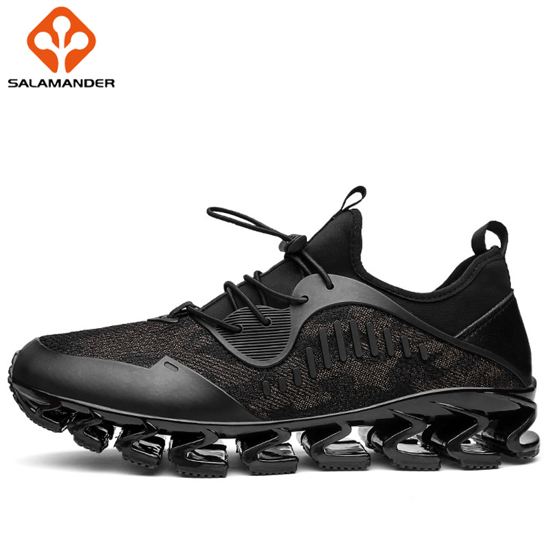 SALAMANDER Men Running Shoes Outdoor Athletic Run Sport Shoes For Men Jogging Man Brand Breathable Walking Shoes Mens Sneakers 2017 spring summer running shoes for men brand walking sneakers mesh breathable mens trainers jogging sport shoes cheap zapatos