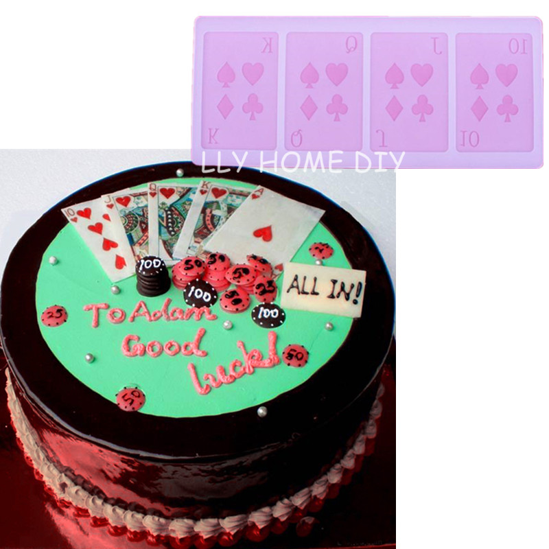 Cake Decoration Playing Cards : Online Buy Wholesale chocolate playing cards from China ...