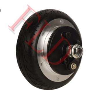 24V 400W 6 electric wheel hub motor    electric 2 wheel scooter  hub motor   electric skateboard conversion kit