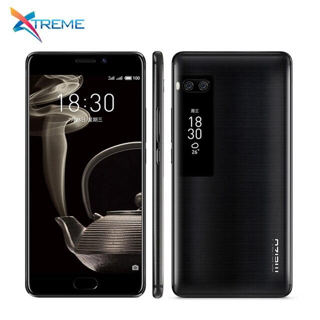 Международная Версия Оригинал Meizu Pro 7 Plus Дека core helio X30 мобильный телефон 6 ГБ Оперативная память 128 ГБ Встроенная память 5.7 ''3500 мАч двойной реального Cam