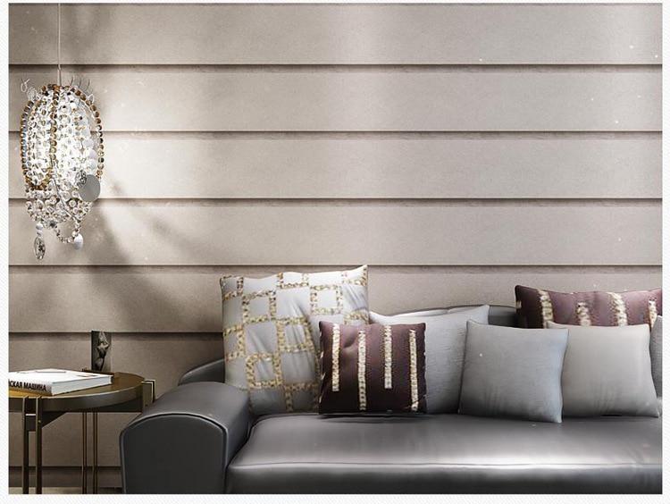 3D Vertical  Horizontal Striped Wallpaper Marble Wall