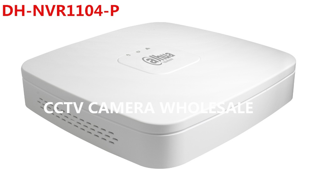 English version Dahua NVR1104-P Smart 1U 4PoE Network 4CH MINI NVR 1080P DH-NVR1104-P