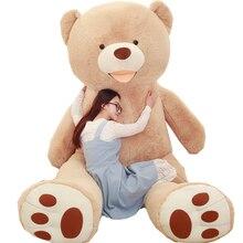 Huge Size 260cm USA Giant Teddy Bear Plush Toy Soft Teddy Bear Skin Popular Birthday & Valentine's Gifts For Girls Kid's Toy