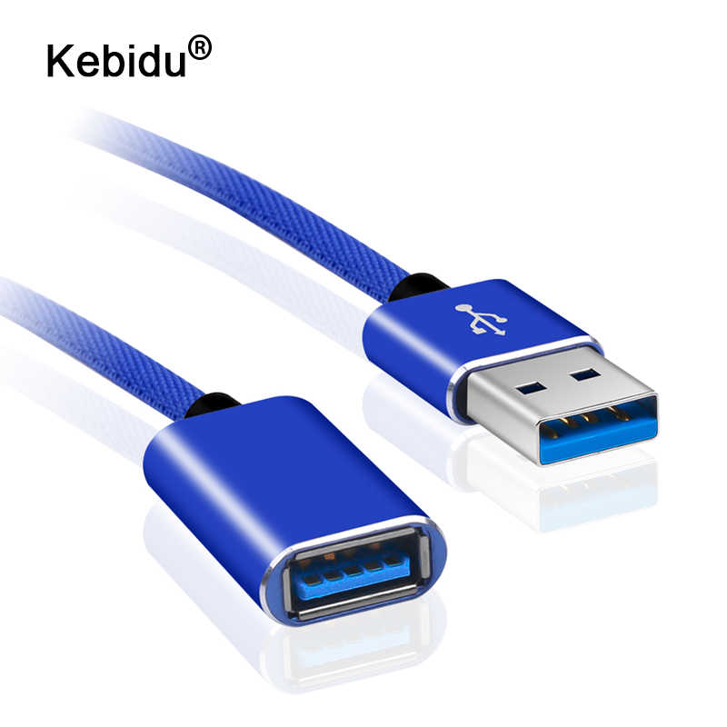 1 M USB2.0 Kabel Ekstensi Extender Kabel Laki-laki Ke Perempuan USB Data Kabel untuk PC Keyboard Printer Kamera Mouse Permainan controller