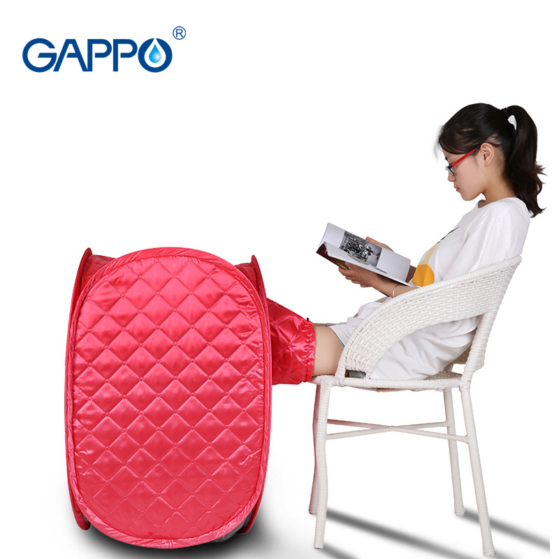 GAPPO Steam Sauna Generator Home Sauna Slimming Household Sauna Box Beneficial skin infrared Weight loss Calories bath SPA