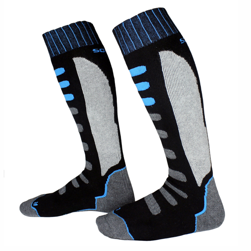 Winter Warm Men Women Thermal Skating Skiing Socks Thicken Cotton Sports Snowboarding Hiking Long Ski Sock Leg Knee Warmer sox