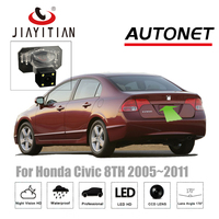 JiaYiTian Rear View Camera For honda civic 2005~2011 sedan 2DR Coupe 8TH Backup Camera CCD Night Vision license plate Camera