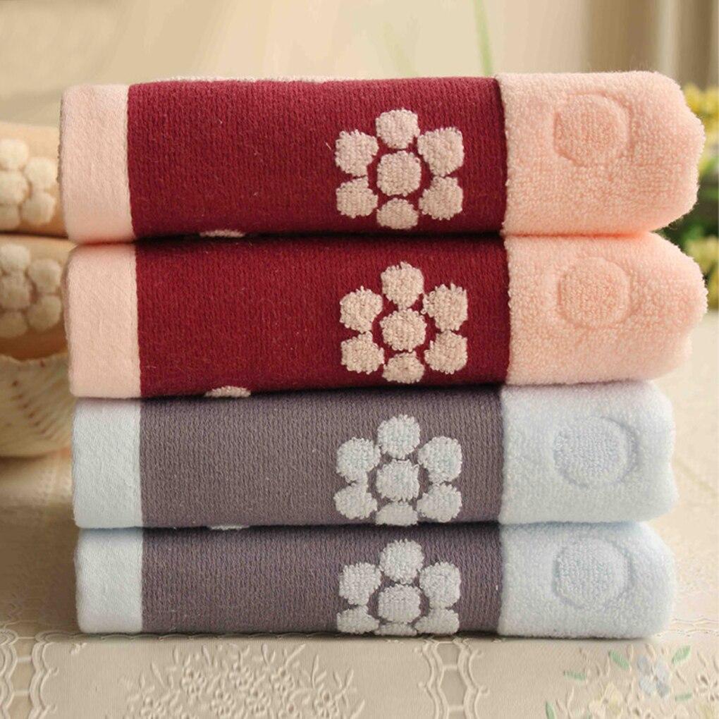 100% algodón de la cara de ancho towel baño towel soft cotton towel belleza prod