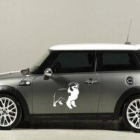 58cm X 58cm 2 X Australian Shepherd Dog Graphic One For Each Side Car Sticker For
