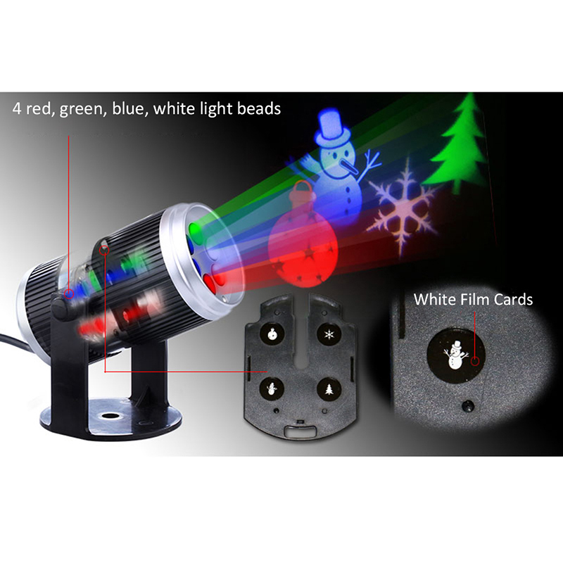 Weihnachten Schnee Laser Projektor Outdoor LED Fairy Light ...