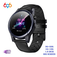 X361 4G LTE Android 7.1 Smart Watch 1.6inch big Screen Round WiFi GPS Sim Card 4G Smartwatch Phone Heart Rate Monitor Camera