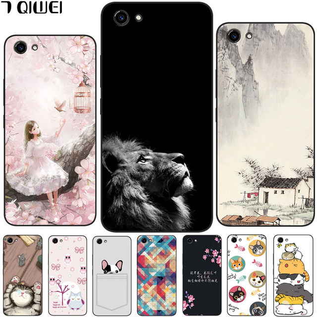 newest 6a312 49fef US $1.21 39% OFF|Phone Case For Vivo Y81 Y 81 VivoY81 6.22 inch Silicone  Soft TPU Back Cover For Vivo Y81 Case Vivo 1808 Painting Cool Owl Bag-in ...