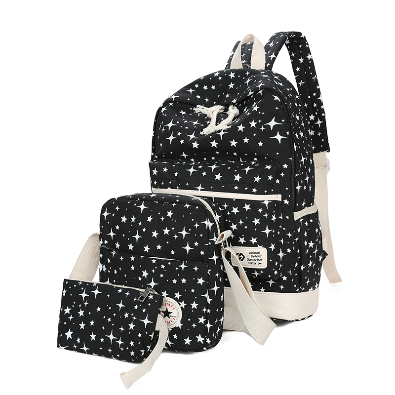 Backpacks Women's Bags Special Section Canvas Backpack Korea Girl Backpack High Quality Pu Daily Waterproof Shopping Bag Rabbit Cosmetic Backpack Round Bottom 50% OFF