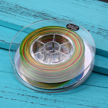 Colourful Fishing Line Strong 300M 330 Yards Nylon Braided Fishing Line 4 Stands 22LB 26LB 30LB 40LB Fishing Tools