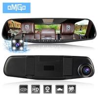 New Car Dvr Dual Lens Car Camera Rearview Mirror Auto Dvrs Cars Recorder Video Registrator Full