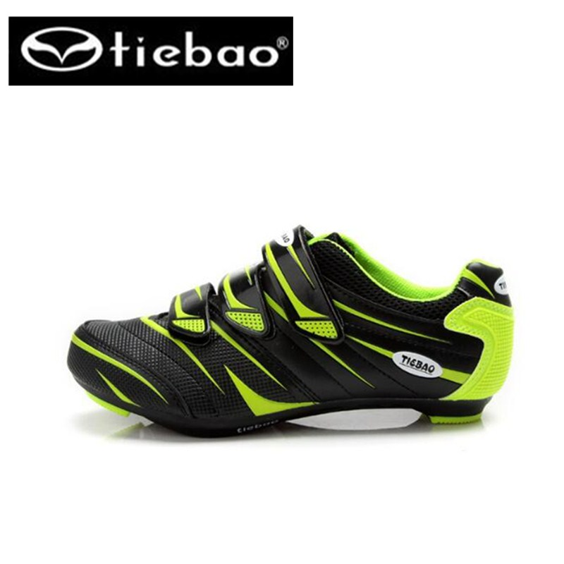Tiebao Bicycle Racing Sports superstar Road Cycling Shoes Breathable Athletic sapatilha ciclismo Road Bike Auto lock
