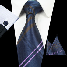Elegant and Colorful Silk Tie with Plaid and Floral Pattern