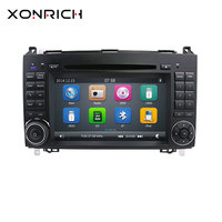 AutoRadio 2 Din Car Multimedia DVD Player For Mercedes Sprinter Benz B200 Viano Vito W639 W169 W245 W209 GPS Navigation Audio 4G