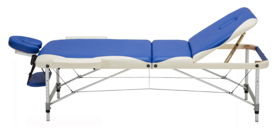 Adjustable Folding Massage Table With Bag Made Of PVC leather And Aluminum Alloy Leg 10