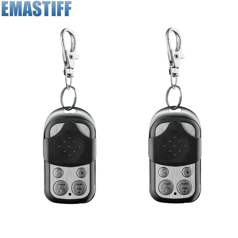 bilder für Drahtlose Fernbedienung Controller Keyfobs Keychain 433 MHz 2 stücke Nur Für Alarm System