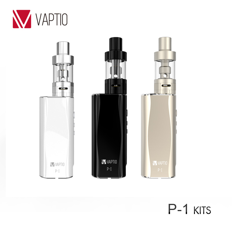 Vaptio e mod 50W mini box mod kit vape electronic cigarette 2.0 mL sub tank OCC coil 2100mah battery free shipping vaptio ascension s50 4200mah box mod kit electronic cigarette kit