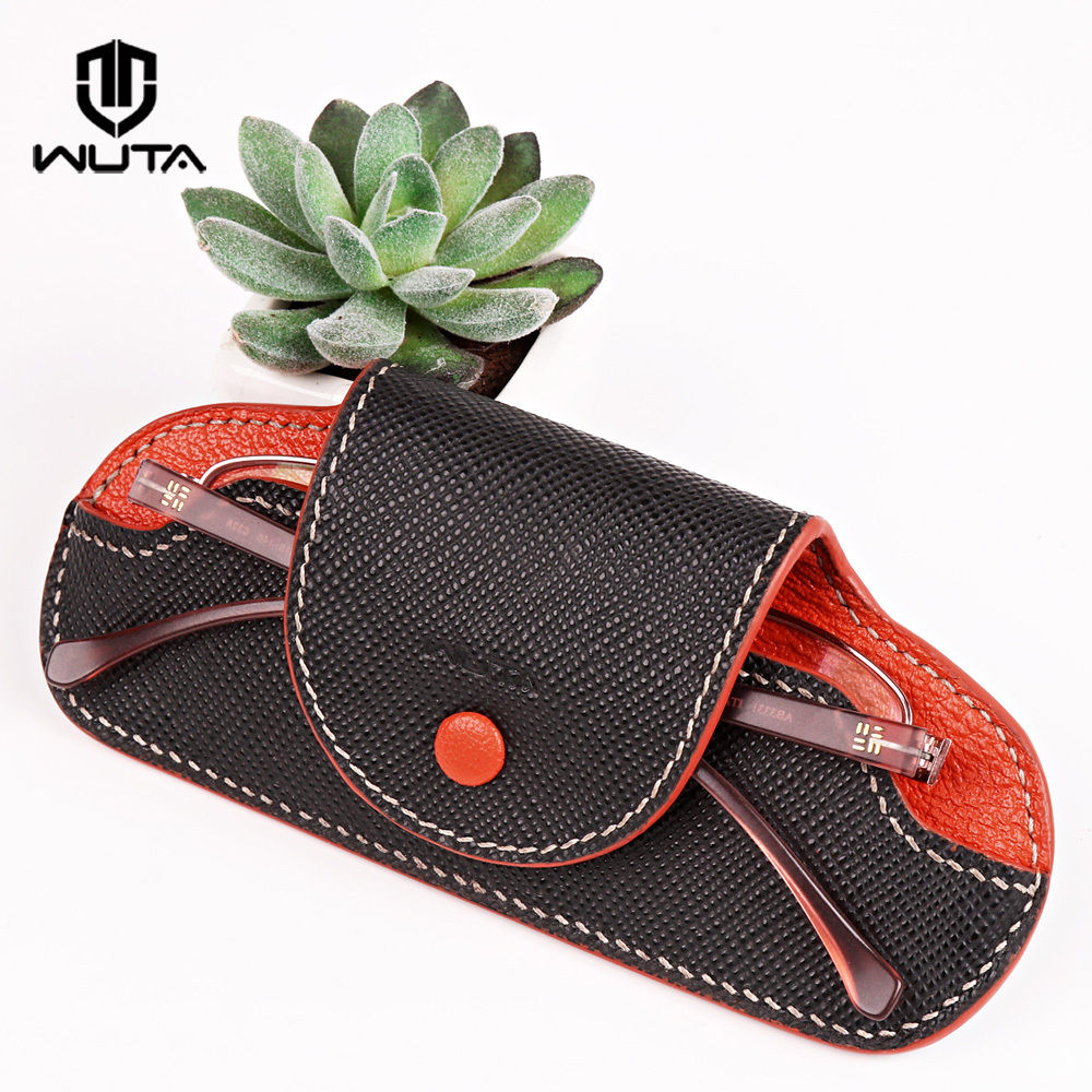 WUTA 959 Eyeglasses Case Holder Acrylic Template Soft Sunglasses Case Pattern Cutting Model for DIY Leather Craft Glasse Cover