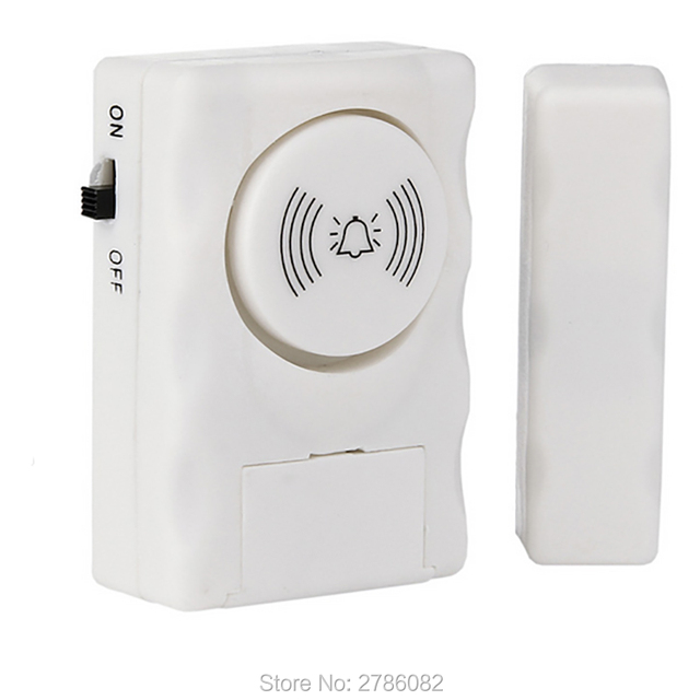 Yalxg Home Security Alarm System 100db Sound Entry Magnetic Door