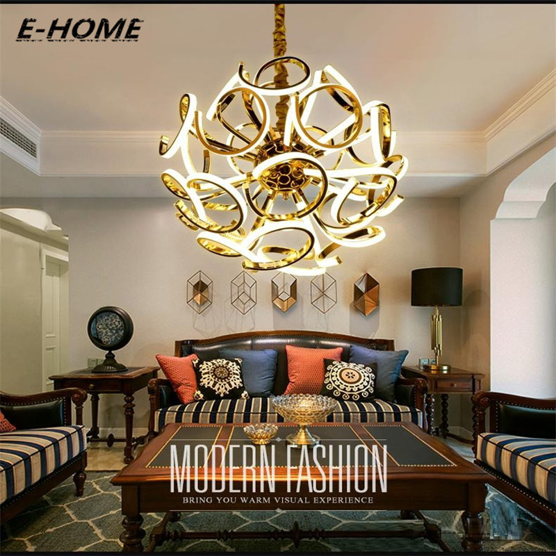 Led post-modern luxury villa hotel living room lights creative personality simple art ball bedroom restaurant chandeliers цена и фото
