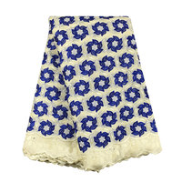 High Quality African Swiss Cotton Voile Lace 896 5 Colors Free Shipping 5yards Lot 100 Cotton