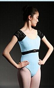 XS-XL Black Blue Red Brown Lace Dancewear Ballet Leotard Sexy Women Girl Ballet Dance Clothes Leotard Suit Adult