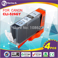 Compatible ink Cartridge for Canon MG8150 MG6150 cartridges CLI-526GY 4PK