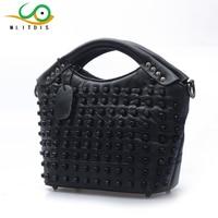 MLITDIS Women Messenger Bags Vintage Famous Brand Crossbody Bag For Women Rivet Tote Handbags High Quality Shoulder Bag Ladies