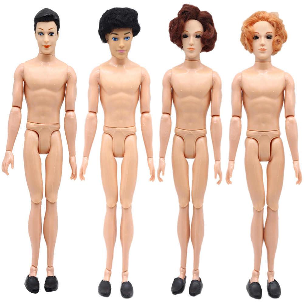 1 Набор, 14 суставов, 1/6, голый принц, кукла, тело с головой и обувью, Кен, мужской бойдолл, сделай сам, голый бойфренд, для куклы-Барби, игрушки