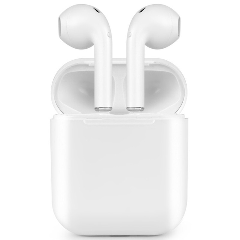 IFANS Bluetooth Mini Double ear Earbuds Earphone i7 TWS Wireless Air Headsets pods with mic for IPhone 8 7 Plus Android high quality laptops bluetooth earphone for acer aspire e5 573g 7049 notebooks wireless earbuds headsets with mic