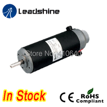 Leadshine DCM57202 120W Brushed Servo Motor with 3600 rpm max speed and 1000 Line Encoder