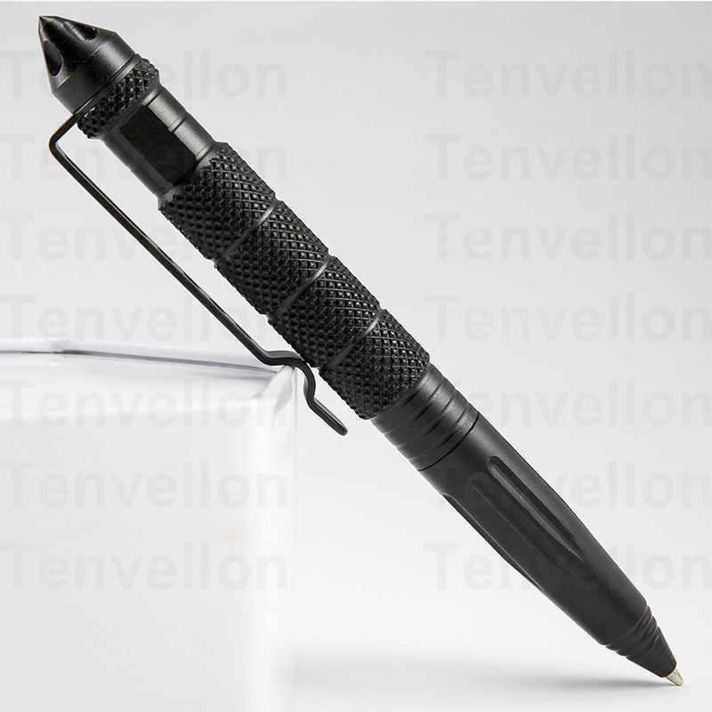 ציוד הגנה עצמית הגנה עצמית עט טקטי ביטחון עט חד ראש כלי הגנה אישית עם כתיבת פונקציה